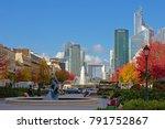 paris  france  november 13 ... | Shutterstock . vector #791752867