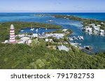 aerial view of the harbour and... | Shutterstock . vector #791782753
