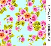 abstract elegance seamless... | Shutterstock . vector #791791243