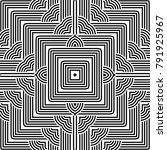 design seamless monochrome... | Shutterstock .eps vector #791925967