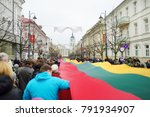 vilnius  lithuania   march 11 ... | Shutterstock . vector #791934907