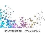 light multicolor  rainbow...   Shutterstock .eps vector #791968477