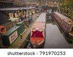london  january  2018  canal... | Shutterstock . vector #791970253