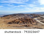 ruins of masada fort  ancient...   Shutterstock . vector #792023647