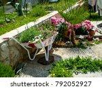 Wheelbarrows Full Of Flowers