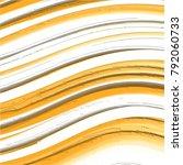 orange  grey and white retro... | Shutterstock .eps vector #792060733