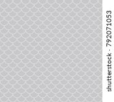 art deco seamless background. | Shutterstock .eps vector #792071053
