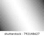 points halftone background.... | Shutterstock .eps vector #792148627