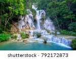 Small photo of Kuang si waterfall: The beauty of nature