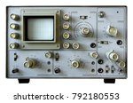 the old oscilloscope made in...   Shutterstock . vector #792180553