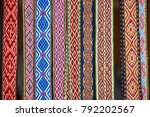 handmade textile bookmarks sold ... | Shutterstock . vector #792202567