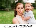family  childhood and... | Shutterstock . vector #792203407