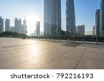 panoramic skyline and modern... | Shutterstock . vector #792216193