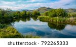 silver creek near sun valley ... | Shutterstock . vector #792265333