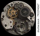 open clockwork  gears | Shutterstock . vector #792294067