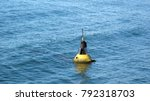 buoy floating on the sea | Shutterstock . vector #792318703