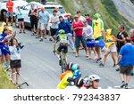 col du glandon  france   july...   Shutterstock . vector #792343837