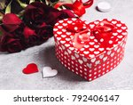 valentines day womens mothers... | Shutterstock . vector #792406147