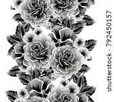 abstract elegance seamless... | Shutterstock . vector #792450157