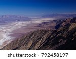 image of death valley from...   Shutterstock . vector #792458197