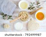 natural ingredients for...   Shutterstock . vector #792499987