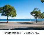 seaside city park  yokohama... | Shutterstock . vector #792509767