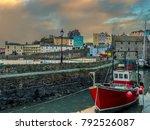 a view across the inner harbour ... | Shutterstock . vector #792526087