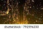 abstract bokeh awards... | Shutterstock . vector #792596233