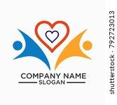 health logo and vector template ...   Shutterstock .eps vector #792723013