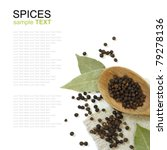 spices isolated on white... | Shutterstock . vector #79278136