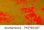 oil painting on wall canvas... | Shutterstock . vector #792783187