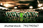 soccer team. kids   future... | Shutterstock . vector #792790567