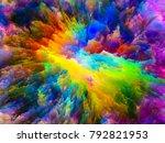 color explosion series.... | Shutterstock . vector #792821953
