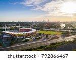 gold coast  queensland... | Shutterstock . vector #792866467