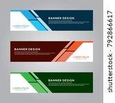 abstract modern banner...   Shutterstock .eps vector #792866617