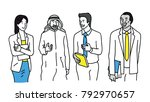 vector illustration character... | Shutterstock .eps vector #792970657
