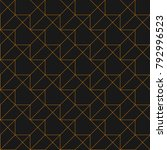 seamless linear pattern.... | Shutterstock .eps vector #792996523