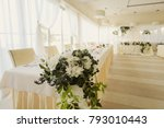 wedding decorations and details ...   Shutterstock . vector #793010443