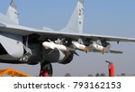 mikoyan mig 29 fulcrum combat... | Shutterstock . vector #793162153