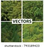 camouflage pattern background.... | Shutterstock .eps vector #793189423