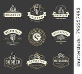 Motorcycles Logos Templates...