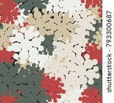 seamless camouflage pattern of...   Shutterstock .eps vector #793300687