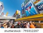 osaka  japan   april 14 2016  ... | Shutterstock . vector #793312207