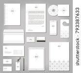 vector set of printing...   Shutterstock .eps vector #793387633