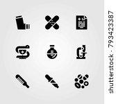 medical vector icons set....   Shutterstock .eps vector #793423387