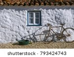 detail of typical portuguese...   Shutterstock . vector #793424743