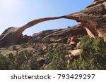 landscape arch  arches national