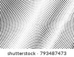 black white dotted texture.... | Shutterstock .eps vector #793487473