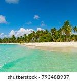 dominican republic dream beach | Shutterstock . vector #793488937