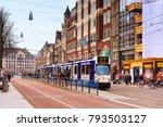 amsterdam  netherlands   march... | Shutterstock . vector #793503127